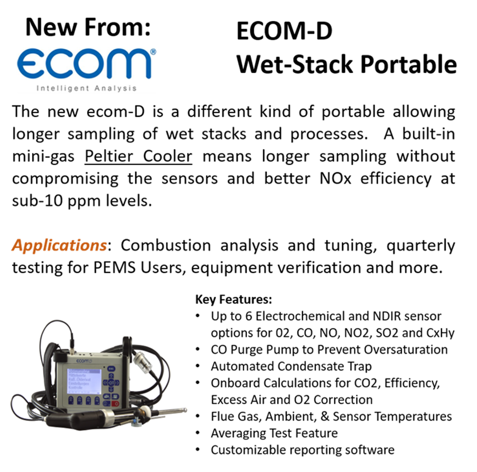 What's New in Continuous Emissions Monitoring Systems (CEMS